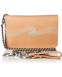 Nudie Jeans - Adult's Alfredsson Chain Wallet, Natural Onesize - Lyst