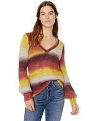 Kensie Blended Ombre Sweater - Multicolor
