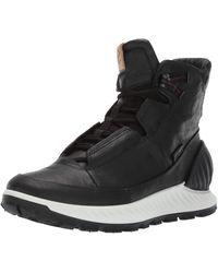 Ecco EXOSTRIKEM Hohe Sneaker - Schwarz