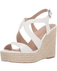 Charles David Damon Wedge Sandal - White