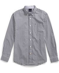 Tommy Hilfiger Magnetic Button Shirt Custom Fit - Blue
