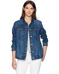 J Brand Cyra Oversize Jacket - Blue