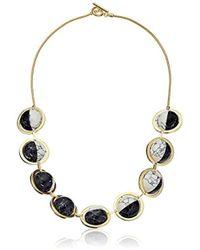 Noir Jewelry - Orbit Semiprecious Galileo Necklace - Lyst
