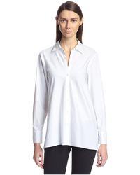 SOCIETY NEW YORK Tunic Shirt - White