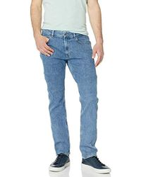 d2378384 5 Pocket Stretch Denim Slim Pant, Hh4604 - Blue