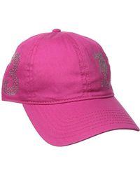 U.S. POLO ASSN. - Rhinestone Logo Baseball Hat - Lyst