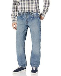 U.S. POLO ASSN. Relaxed Straight Fit 5 Pocket Denim Jean - Blue