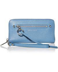 Rebecca Minkoff Gabby Phone Wallet - Blue