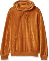 Dobre Brothers Mens Winter Jacket Clothes Plus Velvet Long Sleeve Hooded Sweat Shirt Pullover