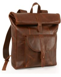 Timberland Calexico Roll Top Backpack - Brown