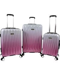 Juicy Couture Lindsay 3-piece Hardside Spinner Luggage Set - Multicolor