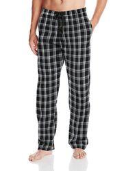 Hanes Woven Pajama Pant - Black