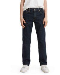 Levi's 505 Regular Fit Jeans - Bleu
