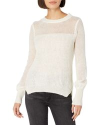 Ella Moss Penelope Light Weight Sweater Pullover - Black
