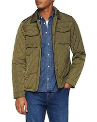 Scotch & Soda - Classic Quilted Shirt Jacket - Lyst