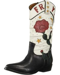 Frye Billy Cactus Pull On Fashion Boot - Black