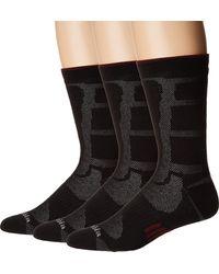 Columbia Poly Mesh Vent Cush Crew Socks - Black