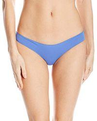 Rip Curl - Classic Surf Aloha Brazilian Coverage Cheeky Swimsuit Bikini Bottom - Lyst