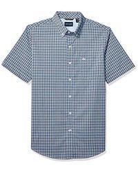 Dockers - Short Sleeve Button Down Comfort Flex Shirt - Lyst