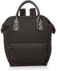 Amazon Essentials Canvas Frame Backpack - Black
