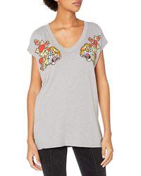 William Rast Willliam Rast-amor Graphic Tee Shirt - Gray