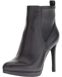 Nine West - QUILLIN Leather Stiefelette - Lyst