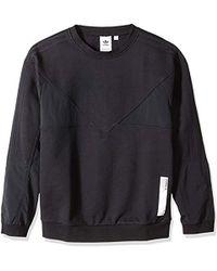 eeb095d9ef60f Lyst - adidas Originals Nmd Pocket Sweatshirt in White for Men