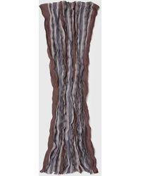 John Varvatos Multi-yarn Crinkled Scarf - Multicolor
