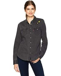 195951dd5c Tailored Classic Western Shirt - Black
