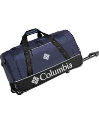 Columbia - Drop Bottom Wheeled Travel Duffle Bag - Lyst