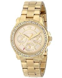 Juicy Couture - 1901105 Pedigree Multi-eye Crystal Bezel Watch - Lyst
