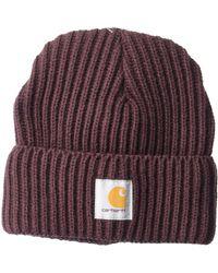 Carhartt - Rib Knit Acrylic Hat - Lyst