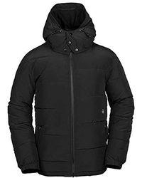 Volcom Artic Loon Heavy Weight Winter Jacket - Black
