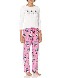 Amazon Essentials S Disney Star Wars Marvel Family Matching Flannel Pajamas Sleep Sets - Pink