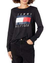 Tommy Hilfiger Long Sleeve Tee - Black