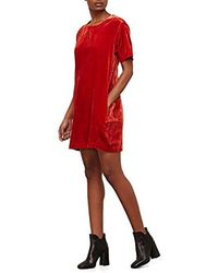 Kenneth Cole - Zip Shoulder T-shirt Dress - Lyst