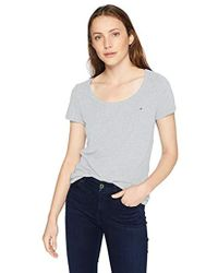 Tommy Hilfiger - Tommy Jeans T-shirt, Grey, X-small - Lyst