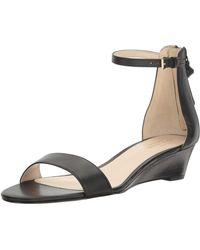 Cole Haan Adderly Wedge Sandal - Black
