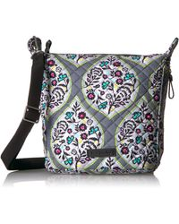Vera Bradley Signature Cotton Carson Mini Hobo Crossbody Purse - Multicolor