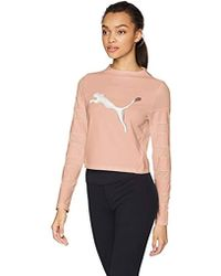 PUMA - Strapped Up Crop Top - Lyst