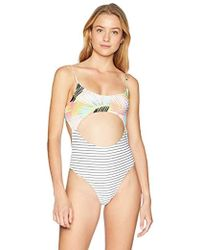 Rip Curl Rip Curl Miami Vibes Cheeky Swimsuit - Multicolor