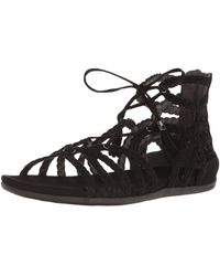 Kenneth Cole Reaction Slim Loop Gladiator Sandal - Black