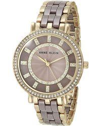Anne Klein - Dress Watch - Lyst