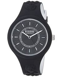 Versus - 'fire Island Bicolor' Quartz Stainless Steel And Silicone Watch, Color:two Tone (model: Vspoq2018) - Lyst