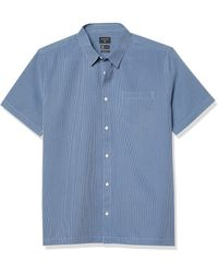 Quiksilver Ss Goff Cove Woven - Blue