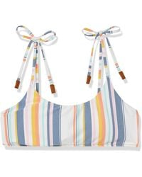 Sperry Top-Sider Standard Bra Top With Tie Up Straps - Multicolor