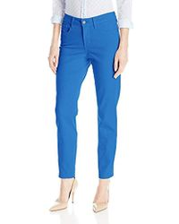 NYDJ - Clarissa Ankle Jeans In Colored Bull Denim - Lyst