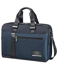 Samsonite Openroad Bailhandle Expandable 15.6inch Laptop Briefcase - Blue