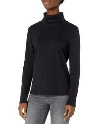 Tommy Hilfiger Long Sleeve Turtleneck Sweater - Black