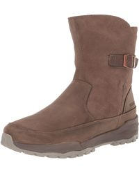 Merrell Icepack Guide Mid Buckle Plr Waterproof Walking Boot - Brown
